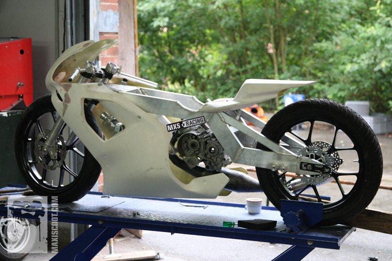 fairing-custom bike-mxs-90-cc