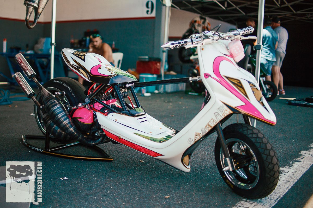 Nexxo Frédéric Scooter Customshow 2016