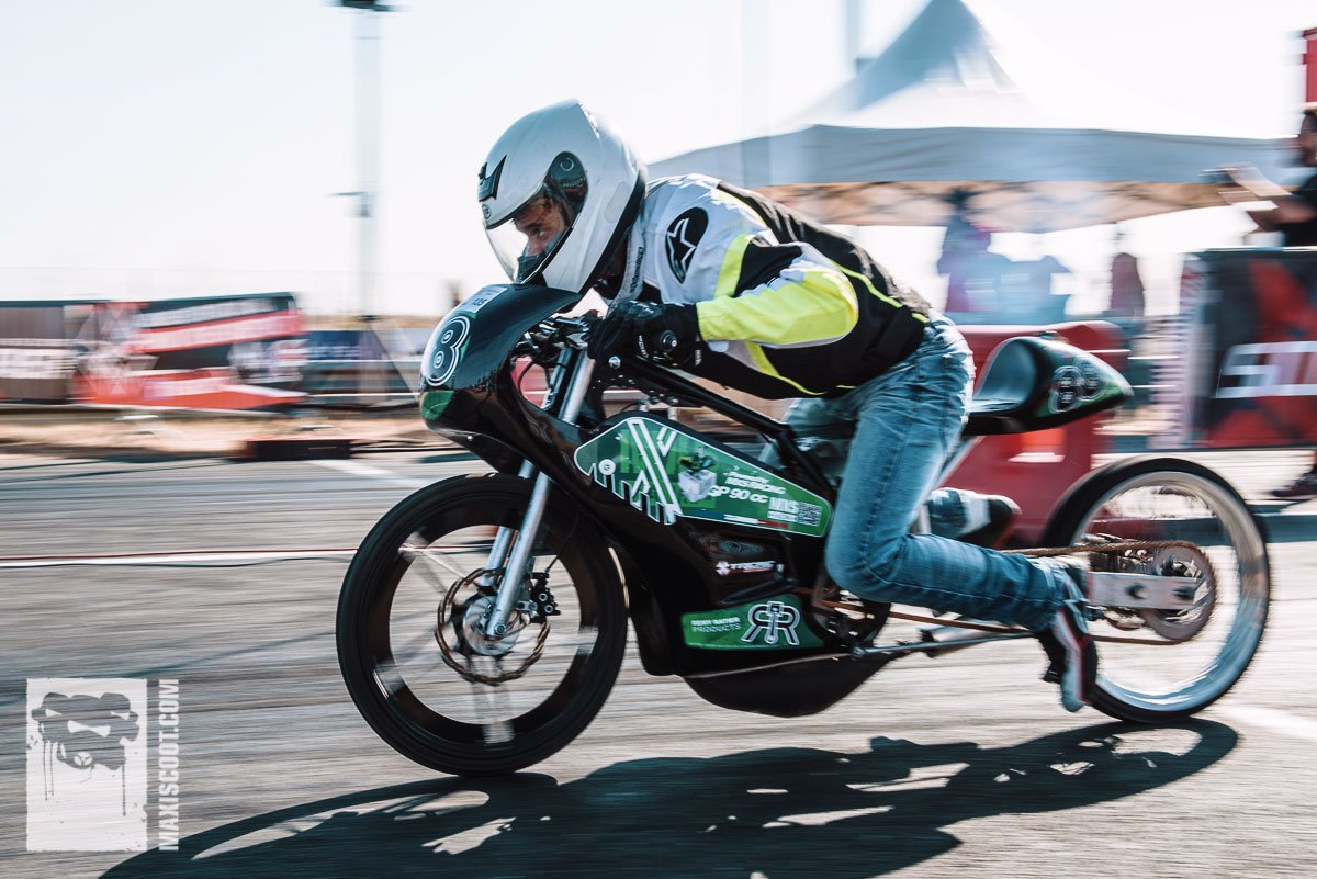 Prototyp gearshift moped